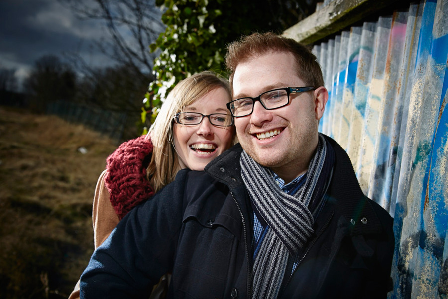 Juila and Daves Derbyshire Engagement Shoot